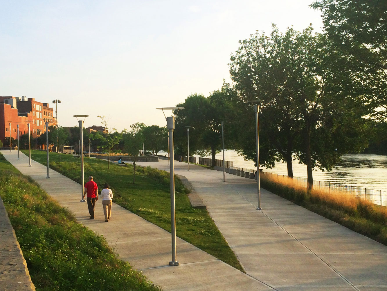 Photo of Troy Riverfront Park