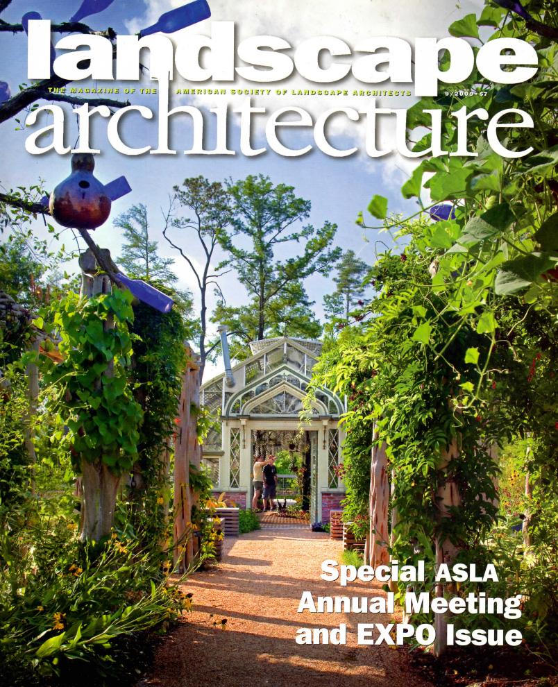 "Ulam, Alex. ""Down by the (Urban) Riverside"" Landscape Architecture Vol. 99, Sept. 2009:128-140."