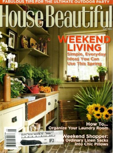 """Barn Raising: Two art lovers turn a dilapidated barn at their weekend farm near Baltimore into a guesthouse that uniquely connects the old with the new."" House Beautiful. May 2005: 84-90."