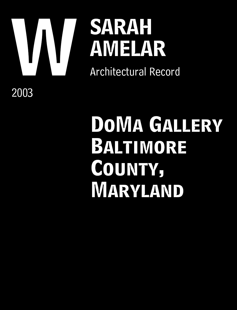 DoMa Gallery Baltimore County, Maryland
