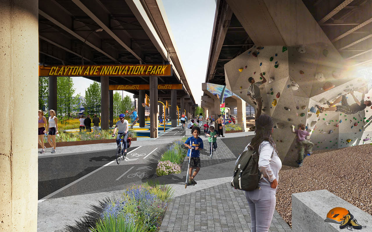 Photo of Chouteau Greenway Competition